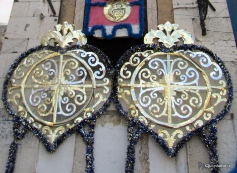 Festive decorations for Sâo António, Lisbon